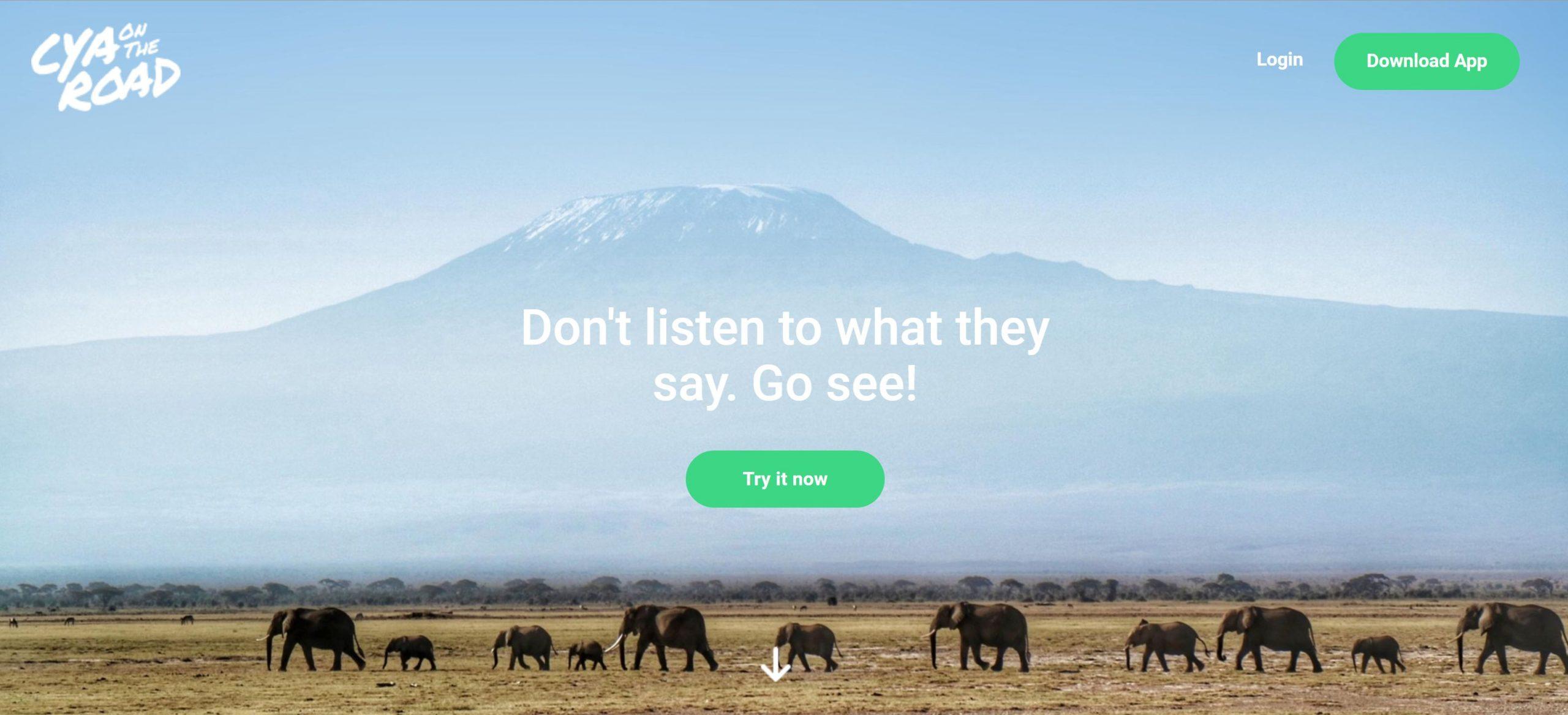 Cya On The Road - Homepage